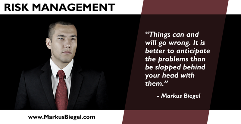 Markus Biegel, Entrepreneur, Business, Risk Management