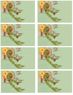 gift tag sheet printable