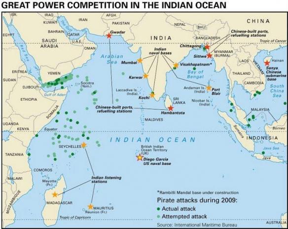 oceans 7 challenge map