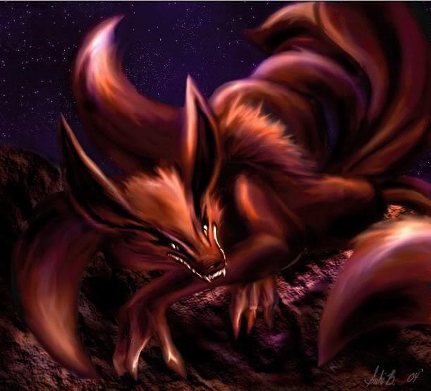 Naruto 9 Tailed Fox Demon