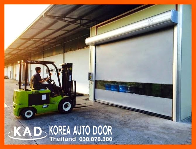installed by KAD high speed door