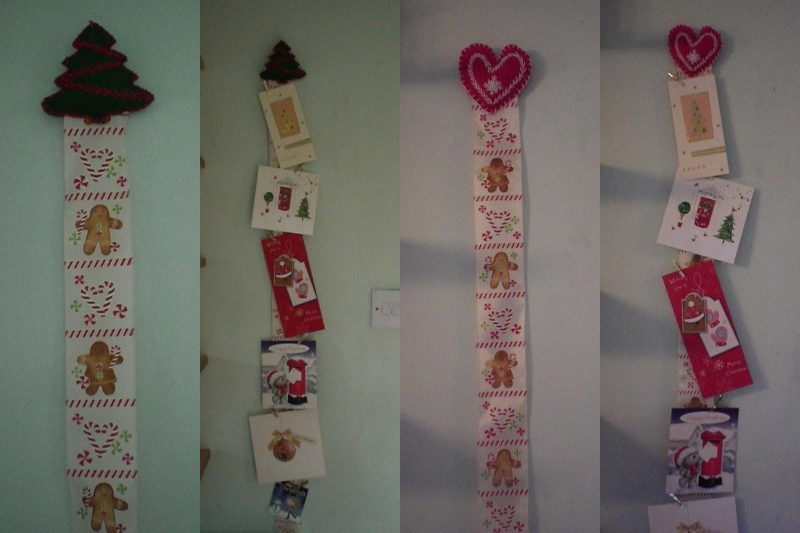 Il Magpie\' miscellanea di s: Christmas Card Hanger - Tutorial