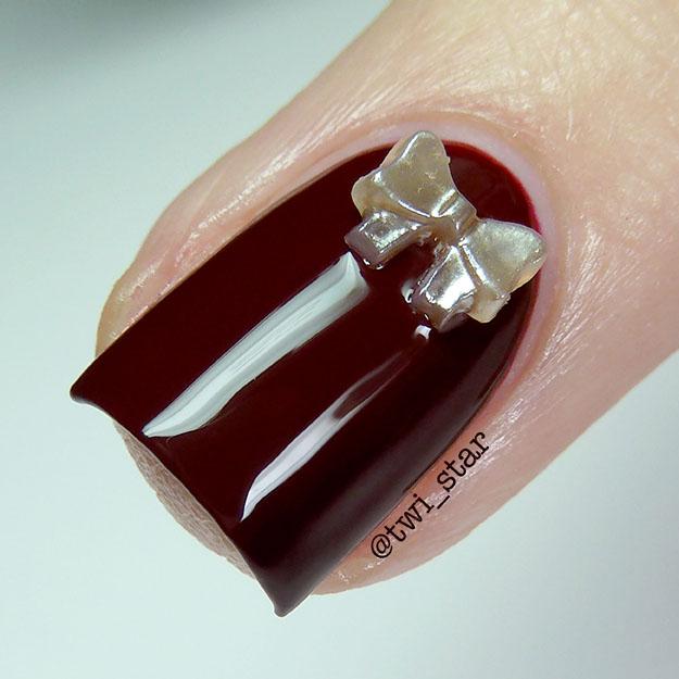 Vampy nails Polish My Life Pom Pom Spice macro swatch