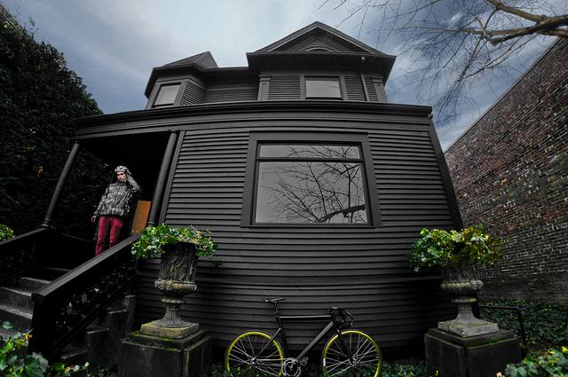 Deformutilation black houses for Images of black houses