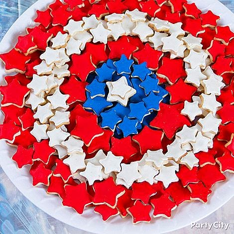 Spiderman Cookie Birthday Cake