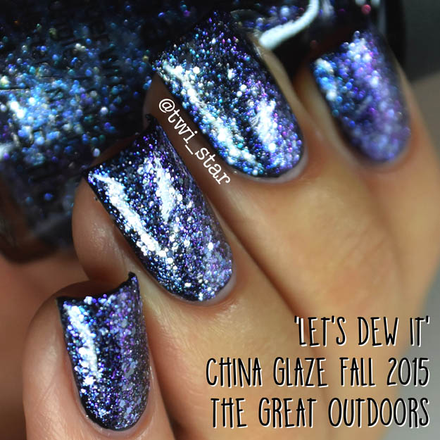 China Glaze The Great Outdoors Fall 2015 Let's Dew It