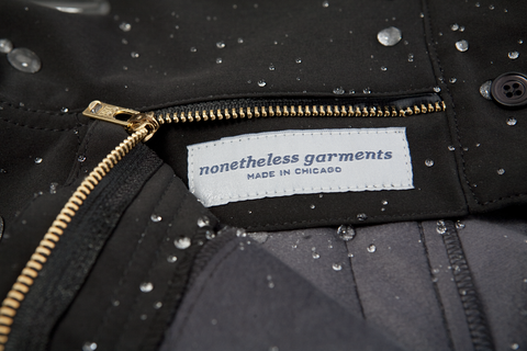 Weatherproof Clothing For Cyclist