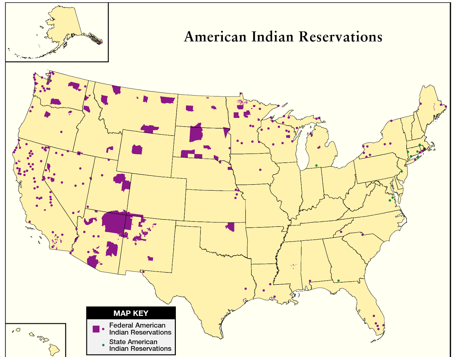 Native American Reservations Today Native Americans in Today's