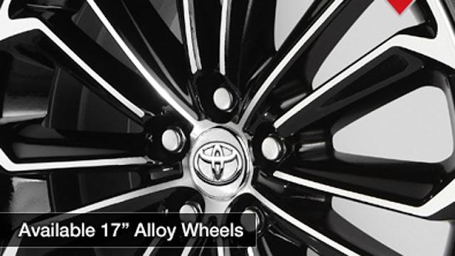 17″ Alloy Wheels, toyota corolla, 2014