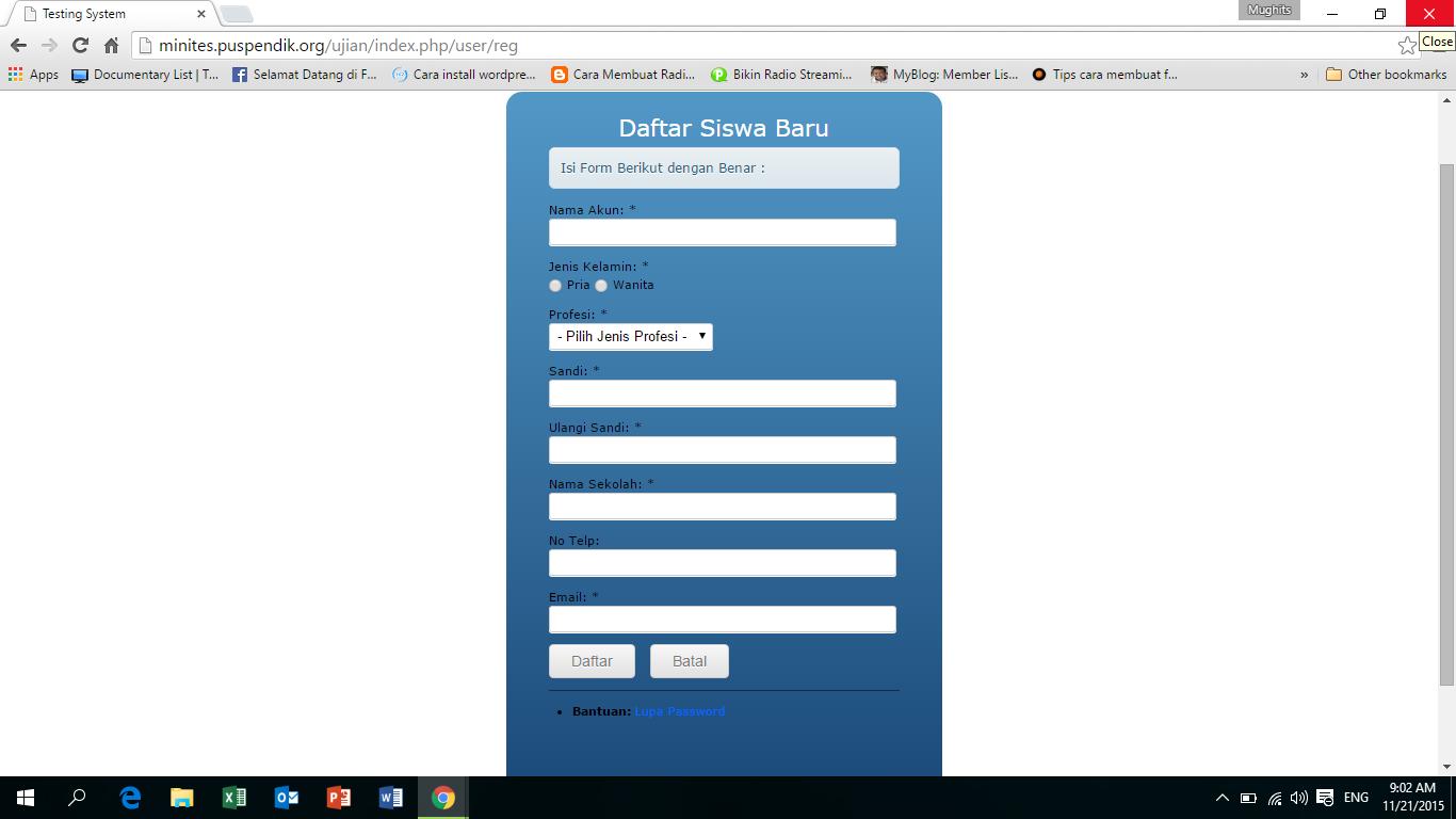 Cara Menggunakan Aplikasi Gratis Un Online Mini Tes Cbt Paman Guru