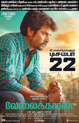 Velaikkaran (Ghayal Khiladi) (2017) Hindi Dual Audio UnCut HDRip | 720p | 480p
