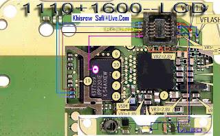 nokia 6030 display problem