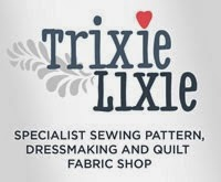 TrixieLixie sewing patterns and fabrics