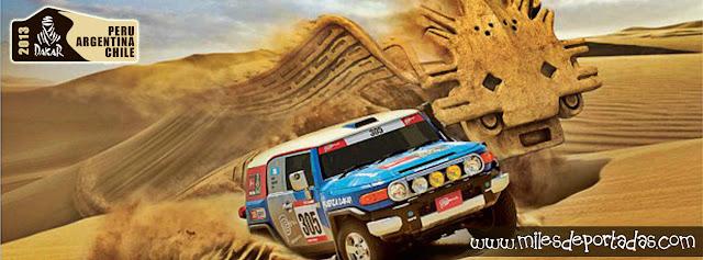 Portadas para Facebook - Dakar 2013