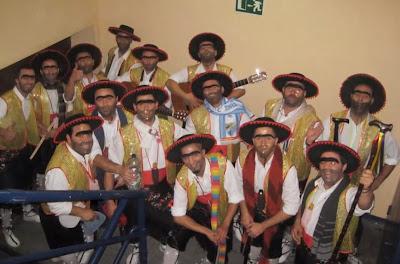 """Carnaval 2013 - 'Agrupación Carnavalesca Rústica Acomparsada """"con Sentimiento, con Quejío..."""