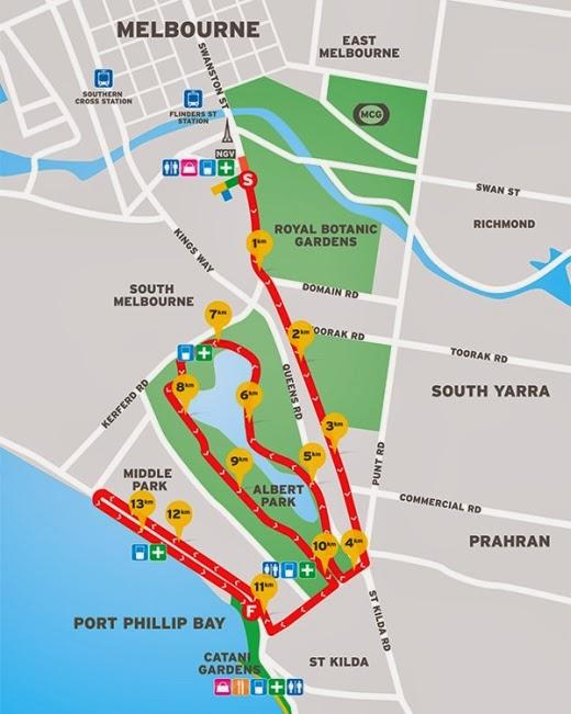 City2Sea 2013 14k course