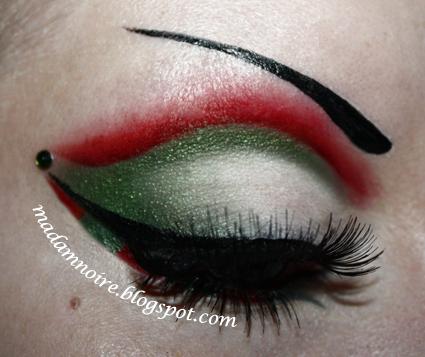 the naughty christmas elf - Christmas Elf Makeup