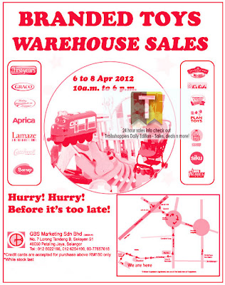 Branded Toys Warehouse Sales