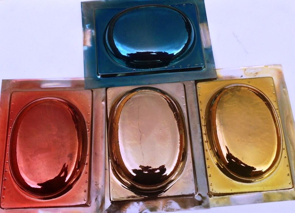 Trofeos joyas y adornos metalizado de plastico pvc transparente - Espejo de plastico ...