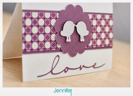 purple wedding card ideas birds love