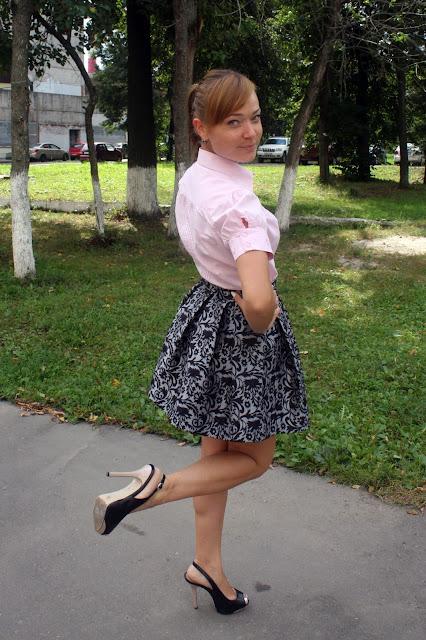 сделать выписку из юбки:
