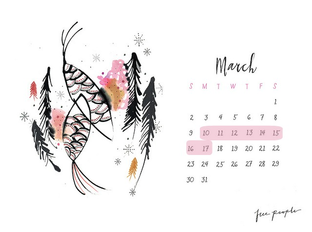 calendario free people