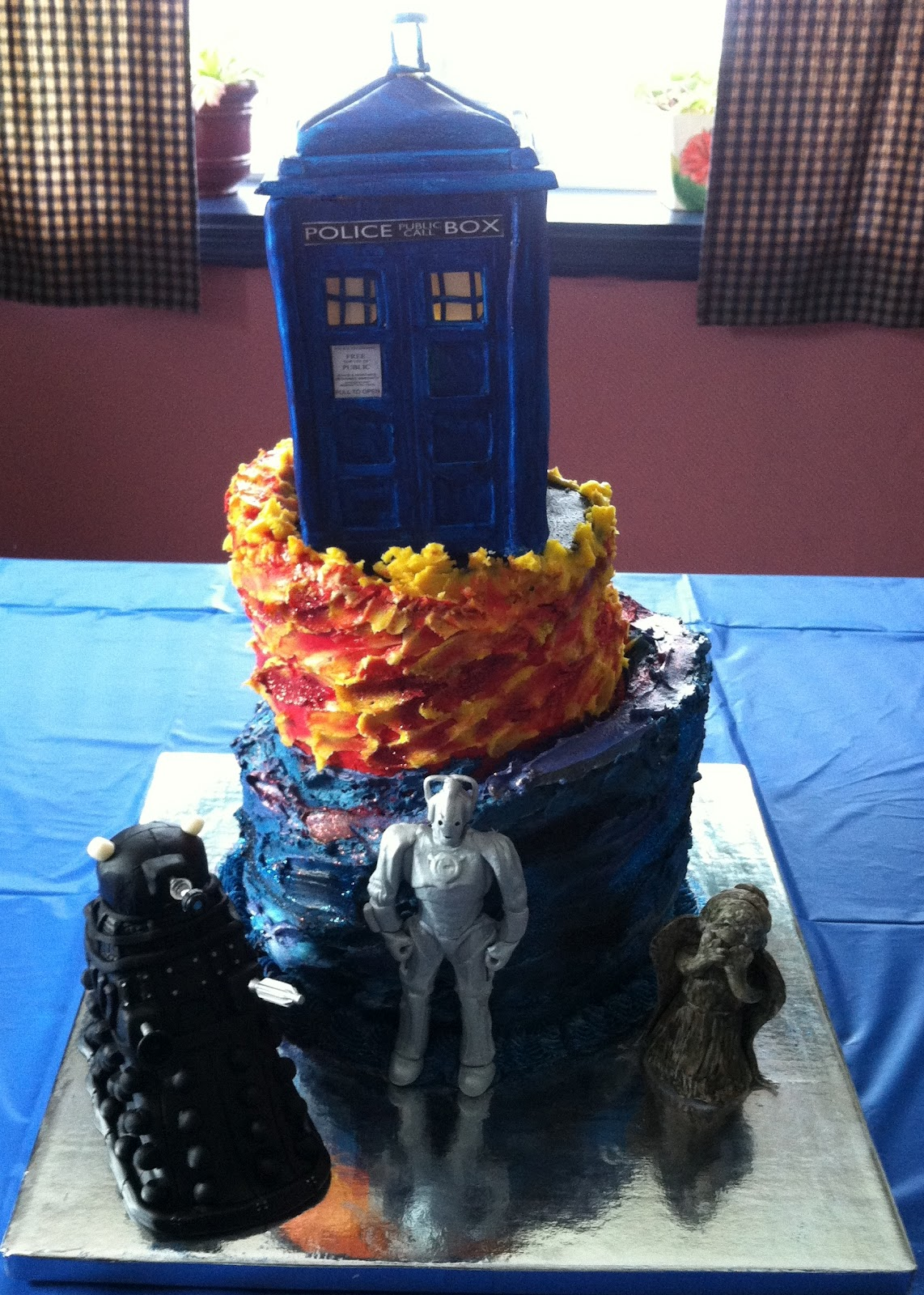 Seven Deadly Sweets Our Cakes Throughout the Years Doctor Who