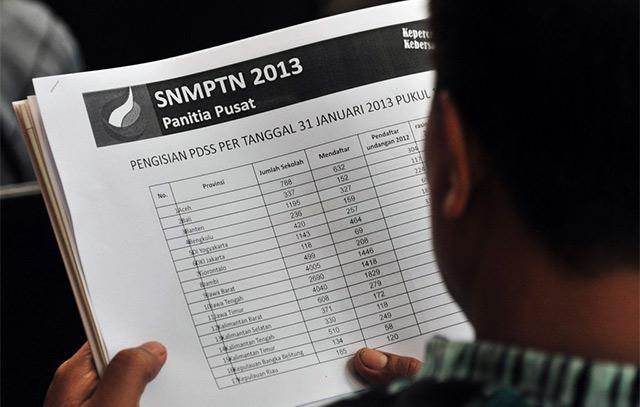 2013 , Hasil Pengumuman SNMPTN 2013 , Hasil Pengumuman SNMPTN 2013 di