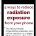Cara Menghindari Radiasi HP