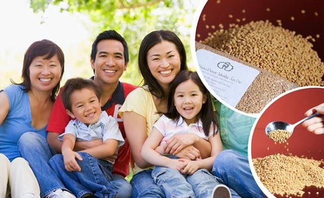 Hạt methi tốt cho sức khỏe gia đình
