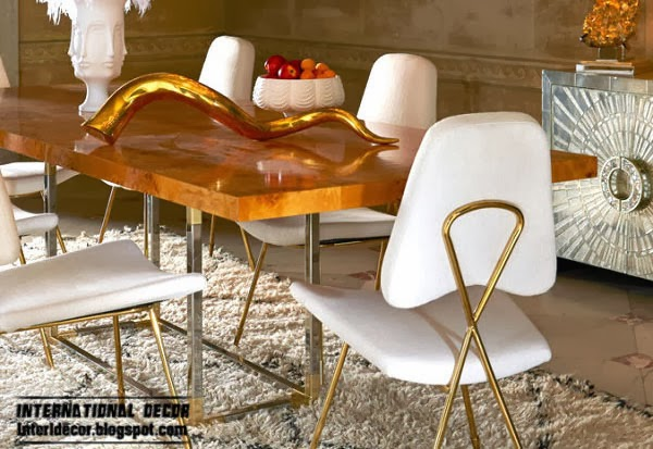 stylish copper in interior, Fashion color trends 2014 interior design decor