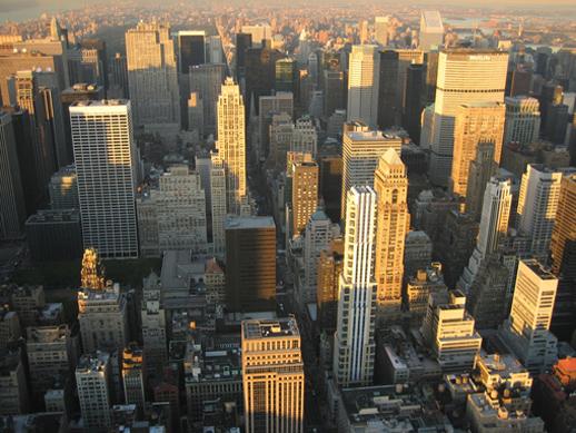 Nueva York desde el aire Empire State