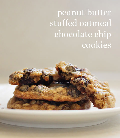 ... The One With the Peanut Butter Stuffed Oatmeal Chocolate Chip Cookies
