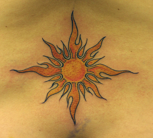 for tattoos unique original if you are looking for sun tattoos designs you have chosen a. Black Bedroom Furniture Sets. Home Design Ideas