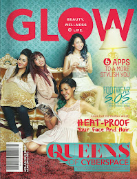 On the Cover of GLOW Mag