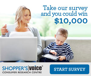 Shopper's Voice 2016 Survey!