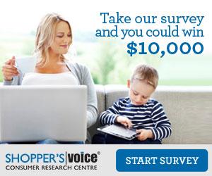 Shopper's Voice 2016 Survey!