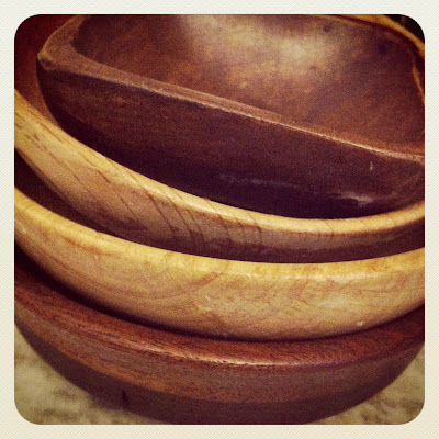 wood bowls