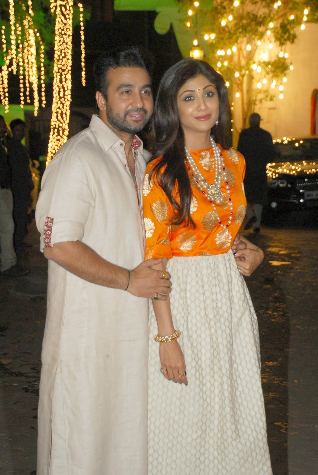 Shilpa Shetty's Diwali bash 2014 gallery