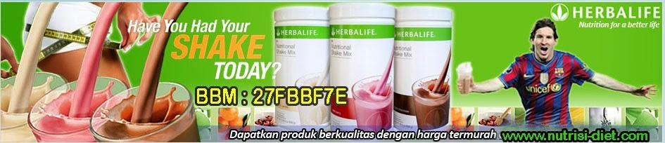 Nutrisi Diet Sehat Cantik Alami dengan HERBALIFE