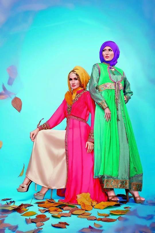 Robe soirée avec hijab pour les jeunes filles