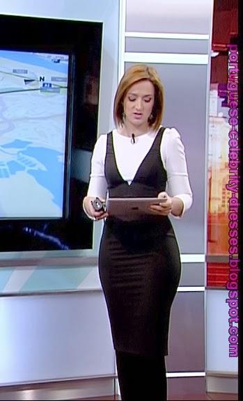 PORTUGUESE CELEBRITY DRESSES: PATRÍCIA MATOS - DDM - 13/1/2014