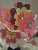 Цветы плоские из бумаги своими руками