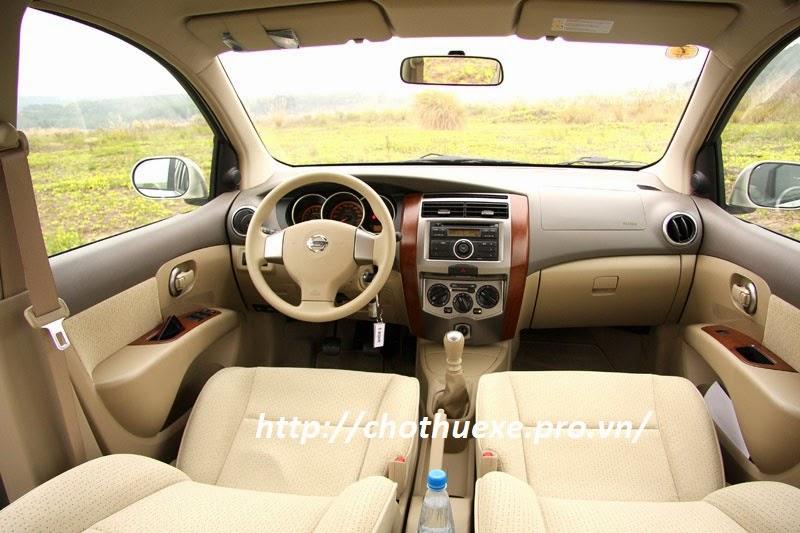 Cho thuê xe cưới Nissan Teana màu trắng uy tín, giá rẻ tại Hà Nội