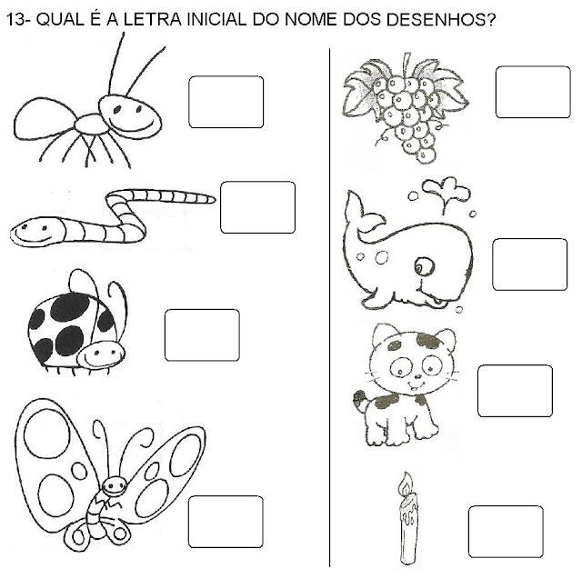 Atividades de português 1 ano fundamental para imprimir