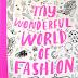 O mundo fashion nos livros de colorir