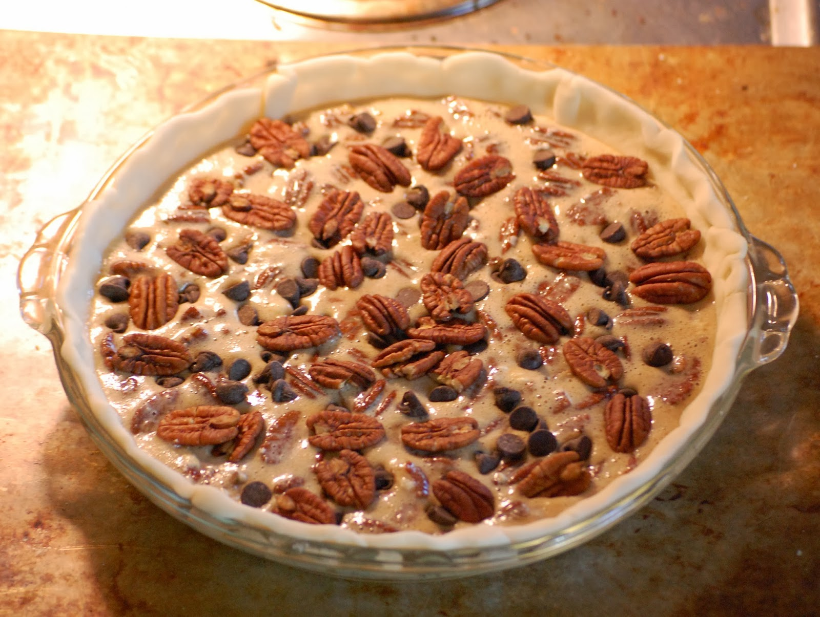 Violet's Buds: Chocolate Bourbon Pecan Pie Recipe