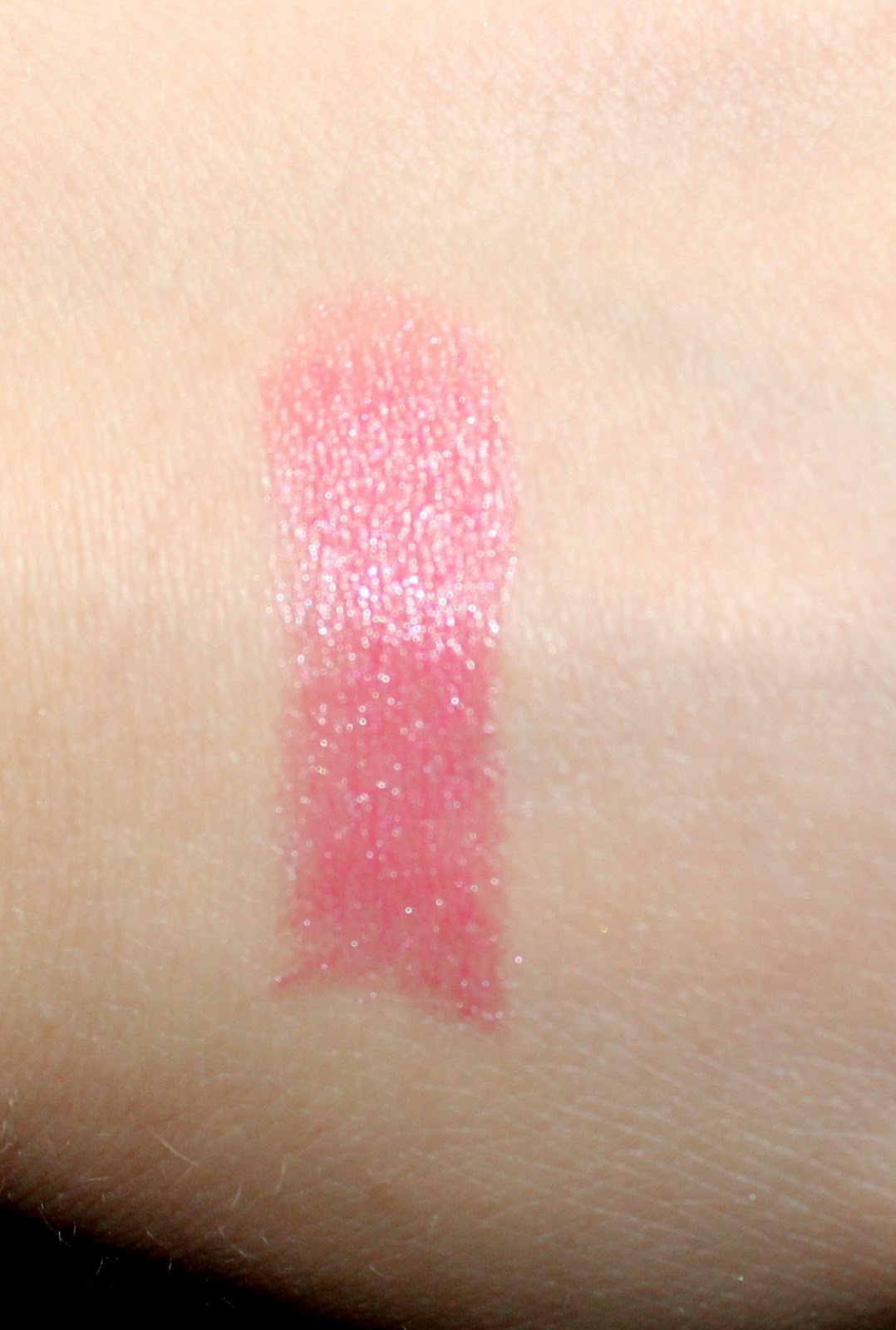 The Body Shop Colour Crush Shine Lipstick in 03 Pink Charming Swatch