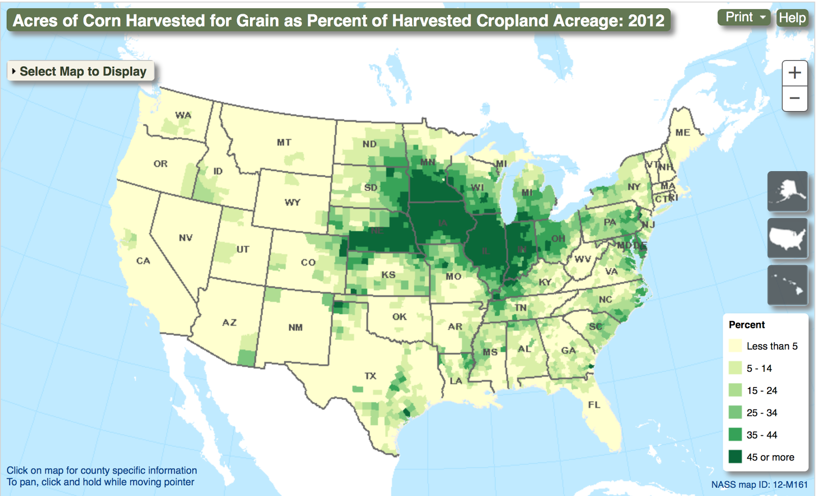 Ag Census Mapping Tool Makes Data Visual on