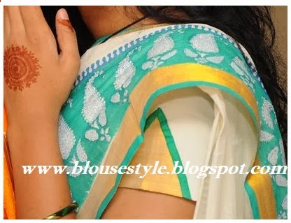 fashion hands model blouse